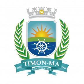 brasão de Timon desenvolvido em 2015 no governo do prefeito em mandato Luciano Leitoa