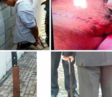 Veja a imagens de Valdemiro Santigo esfaqueado durante culto na Mundial