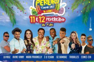 Evento acontece dias 11 e 12 de fevereiro na Av. Piauí bem no coração de Timon