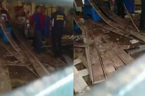 Aconteceu no último dia 08/06 uma explosão no comercial carvalho de Timon